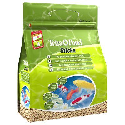 Tetrapond alimento para peces de estanque en barritas al for Comida peces estanque