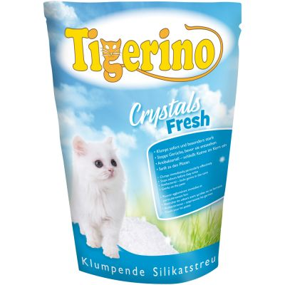 Tigerino Crystals Fresh Clumping Silicate Litter Top