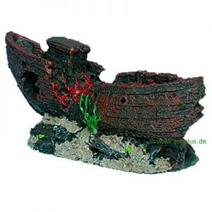 Other aquarium decorations at zooplus trixie shipwreck for Aquarium decoration shipwreck