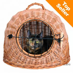 trixie wicker cat basket at zooplus. Black Bedroom Furniture Sets. Home Design Ideas