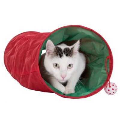 tunnel de jeu pour chat prix avantageux chez zooplus tunnel de jeu christmas pour chat. Black Bedroom Furniture Sets. Home Design Ideas