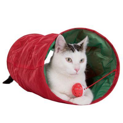 tunnel de jeu pour chat prix avantageux chez zooplus tunnel de jeu christmas pour chat. Black Bedroom Furniture Sets. Home Design Ideas