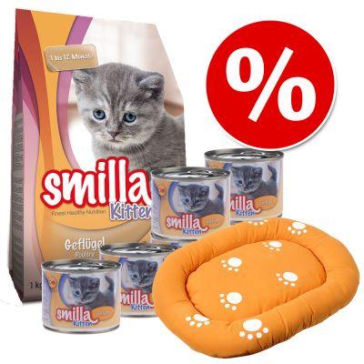 Výhodné balení Smilla Kitten + pelíšek