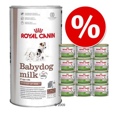 Welcome Kit Puppy & Junior Royal Canin Babydog milk + Starter Mousse