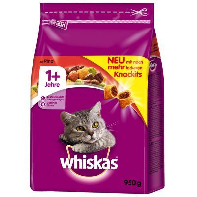 Whiskas 1+ Hovězí