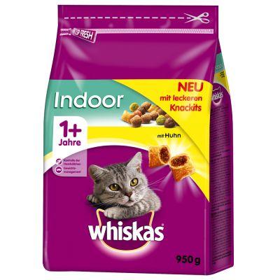Whiskas 1+ Indoor s kuřecím masem
