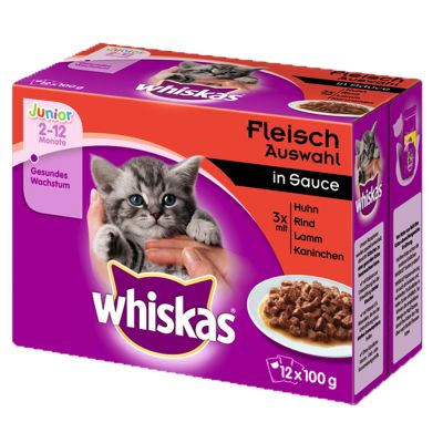 Whiskas Junior kapsička 12 x 100 g