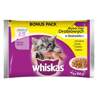 Whiskas Junior 4 x 100 g