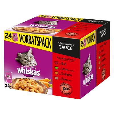 Whiskas 1+ kapsičky 48 x 100 g