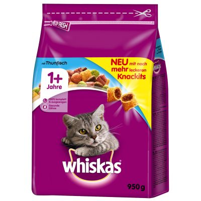 Whiskas 1+ s tuňákem