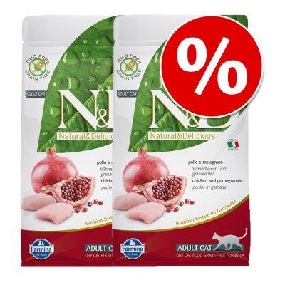 2 x 1,5 kg Farmina N&D Grain Free