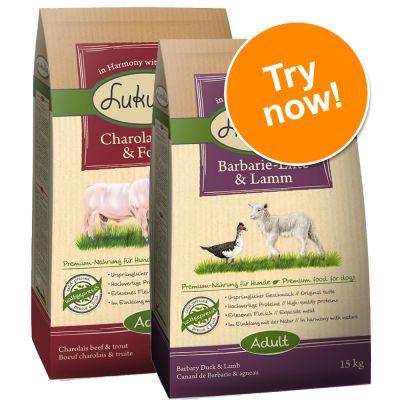 Lukullus Dry Dog Food Feeding Guide