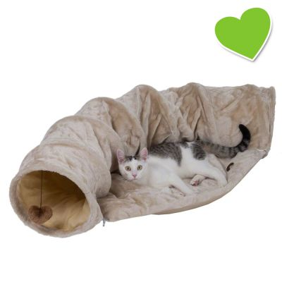 zoolove tunnel de jeu pour chat zooplus. Black Bedroom Furniture Sets. Home Design Ideas