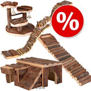 zubeh rset kletterspa f r hamster und m use g nstig bei zooplus. Black Bedroom Furniture Sets. Home Design Ideas