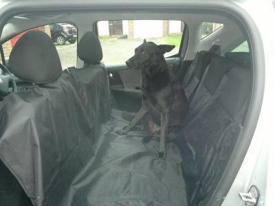 Funda perro coche lidl transportes de paneles de madera for Fundas asientos coche carrefour