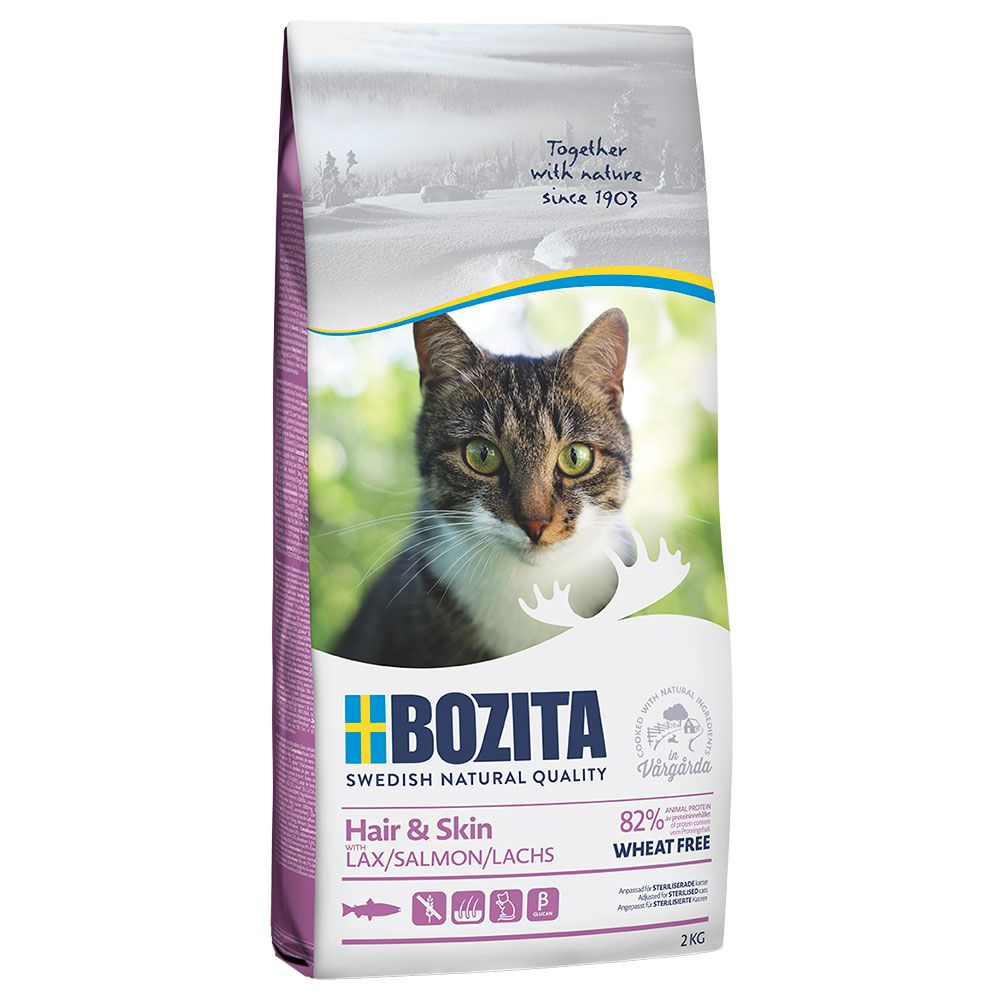 Hair & Skin Wheat Free Bozita Dry Cat Food