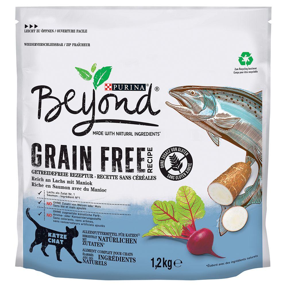 Purina Beyond Grain Free Salmon - Ekonomipack: 4 x 1,2 kg