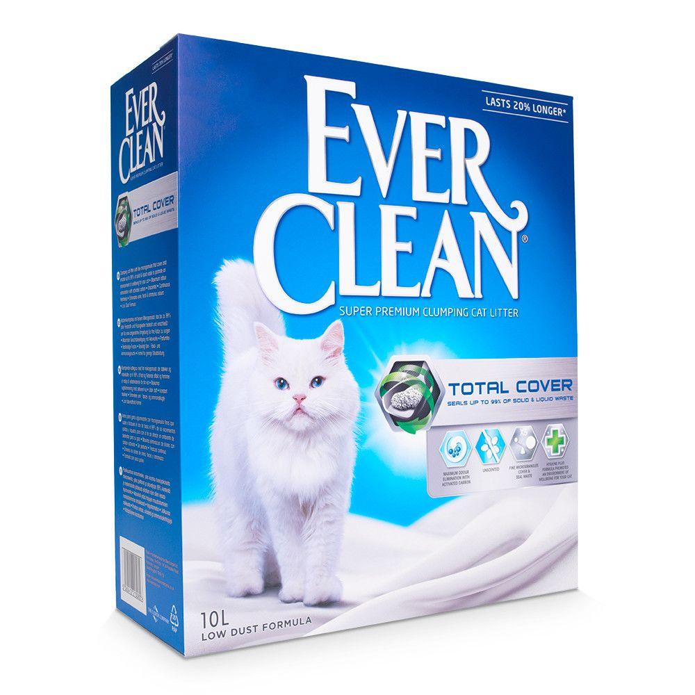 Ever Clean® Total Cover Klumpstreu - Parfümfrei - Sparpaket: 2 x 10 l