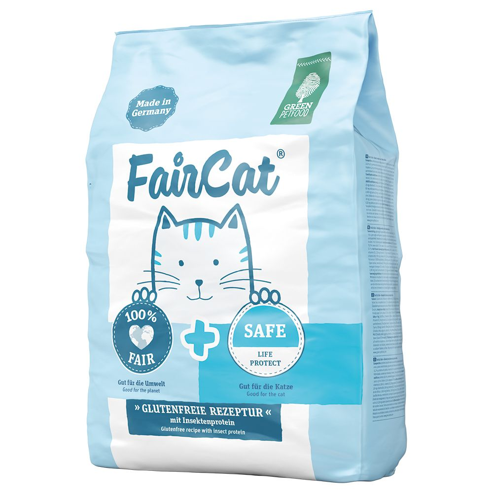 FairCat Safe torrfoder för katt - Ekonomipack: 2 x 7,5 kg