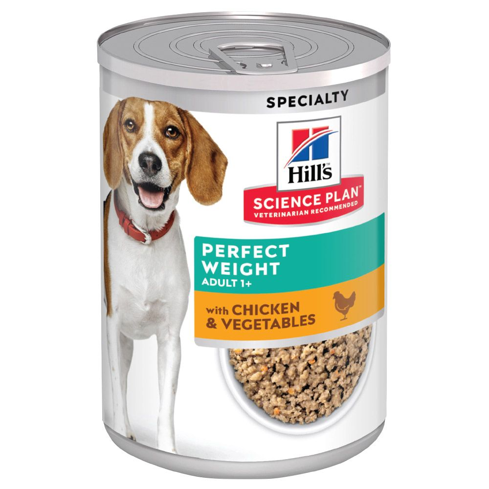 Chicken Perfect Weight Adult Hill's Science Plan Wet Dog Food