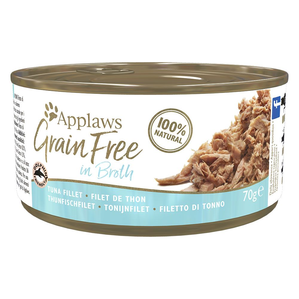 Chicken Breast Grain Free in Broth Applaws Wet Cat Food