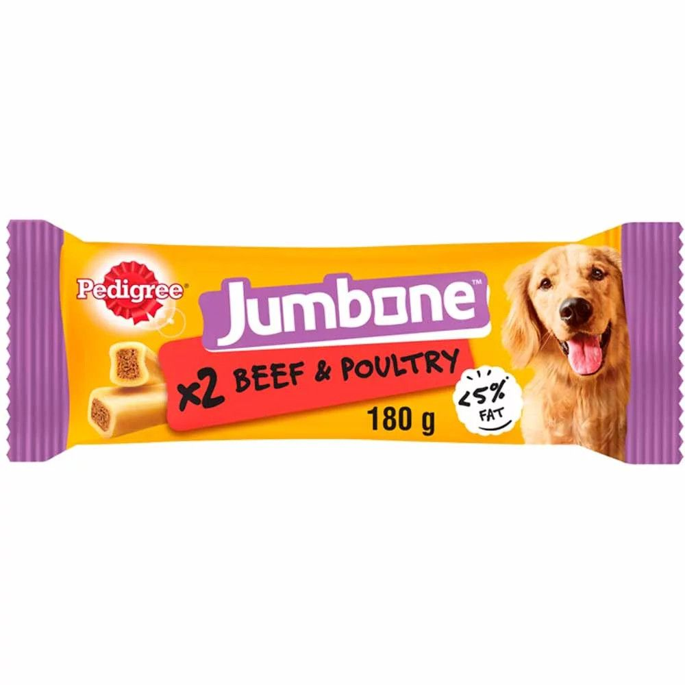 Medium Beef Jumbone Pedigree Dog Treats
