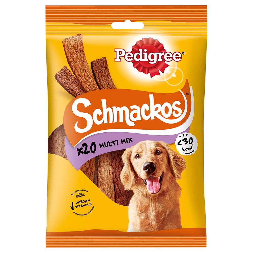 4 Flavours Schmackos Pedigree Dog Treats