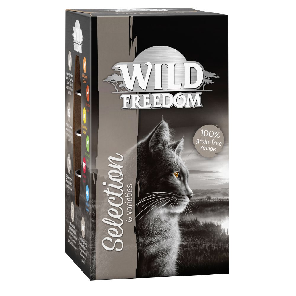 Wild Freedom Adult portionsform 6 x 85 g - Cold River - Salmon & Chicken