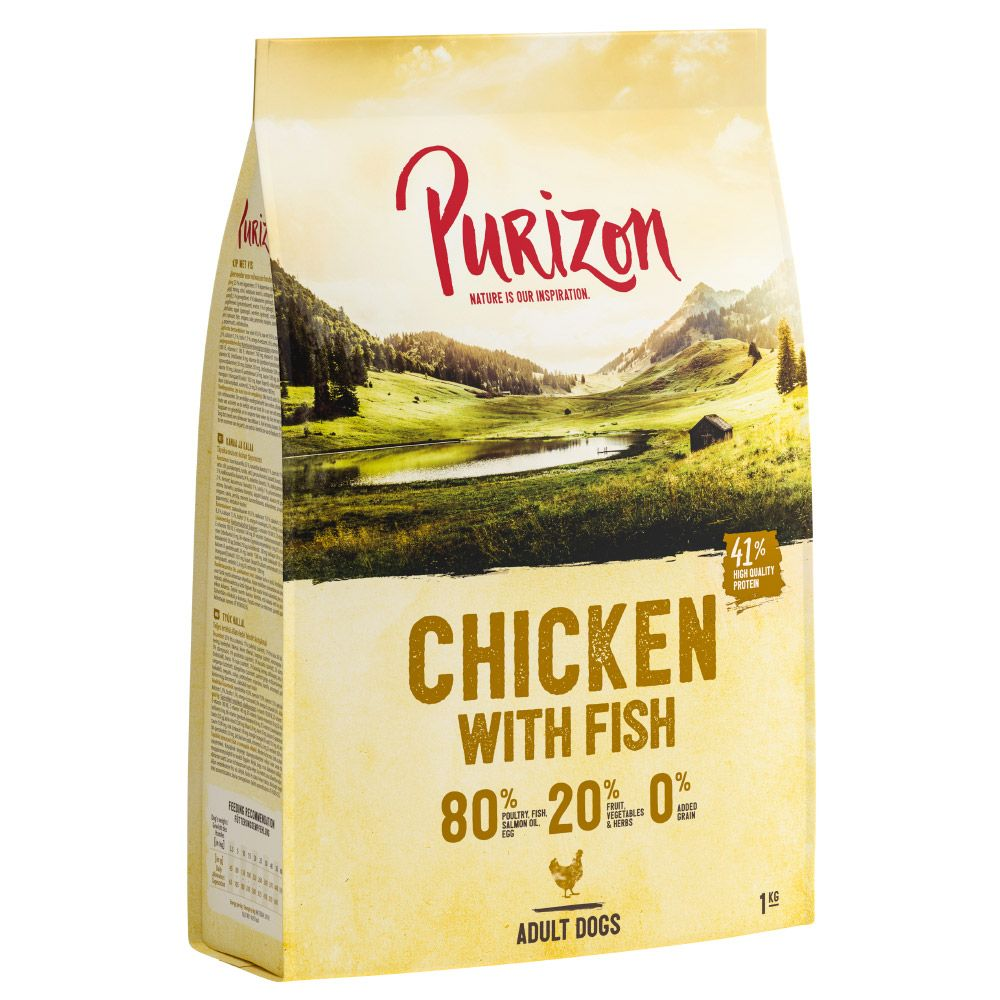 New Recipe: Purizon Adult Grain-free Mixed Trial Packs - Mixed Pack III (3 x 1kg)