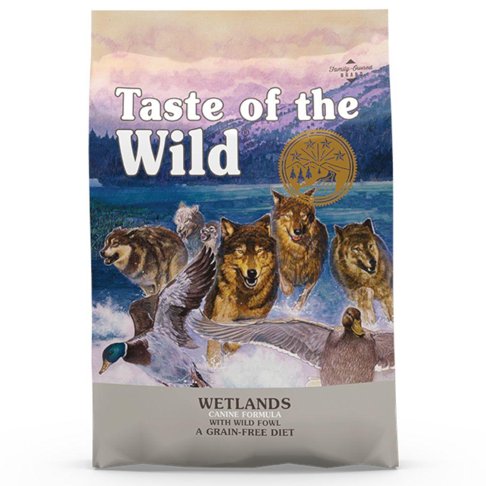 13kg Wetlands Adult Taste of the Wild Dry Dog Food