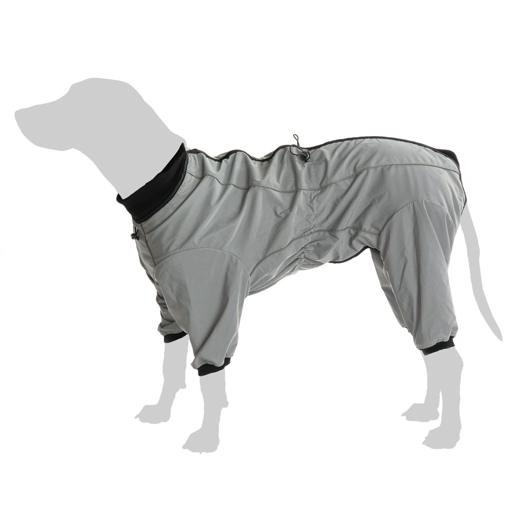 Hundeoverall Reflection - ca. 40 cm Rückenlänge