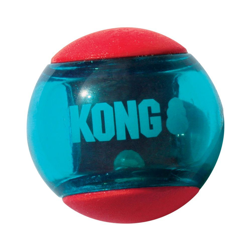 KONG Squeezz Action Ball - M: Ø ca 6 cm