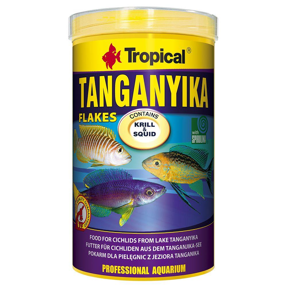 1L Tropical Tanganyika Flakes - Nourriture pour poisson