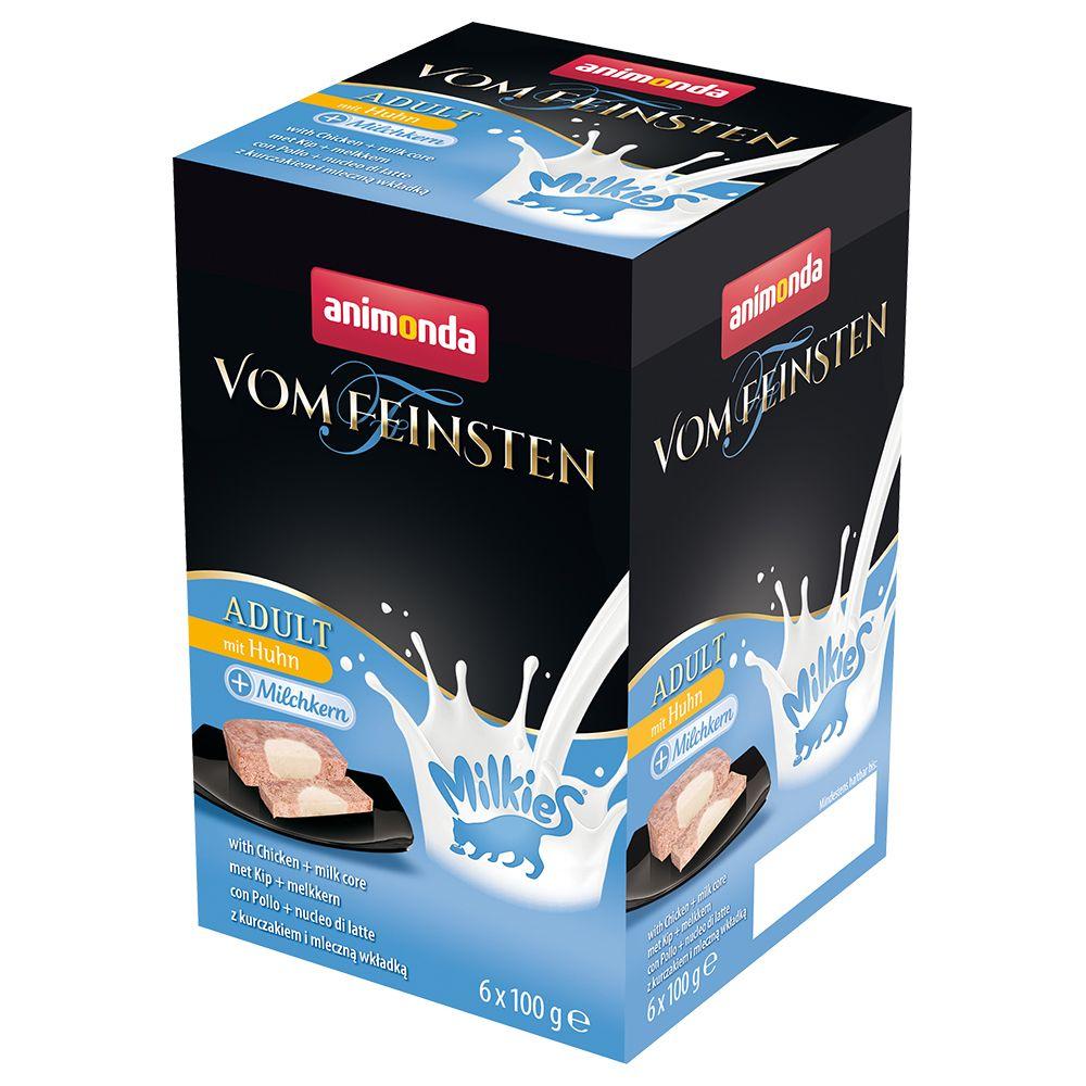 Animonda Vom Feinsten Adult Milkies 6 x 100 g  mit Huhn & Joghurtkern
