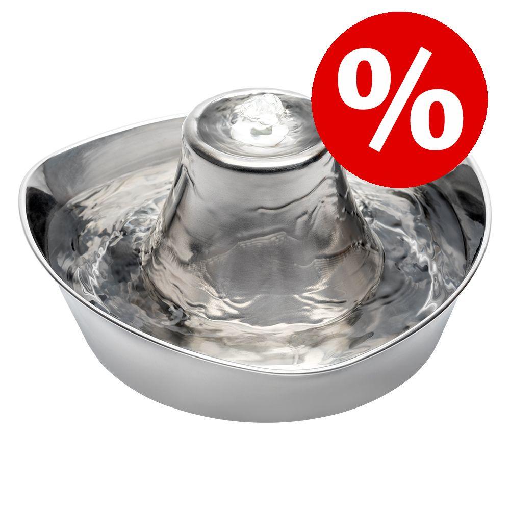 10 % rabatt! PetSafe® Seaside rostfri vattenfontän - Dricksbrunn 1,8 liter