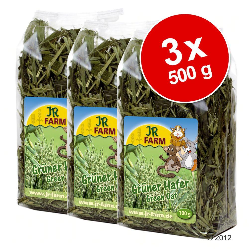 3x500g JR Farm Avoine verte pour rongeur