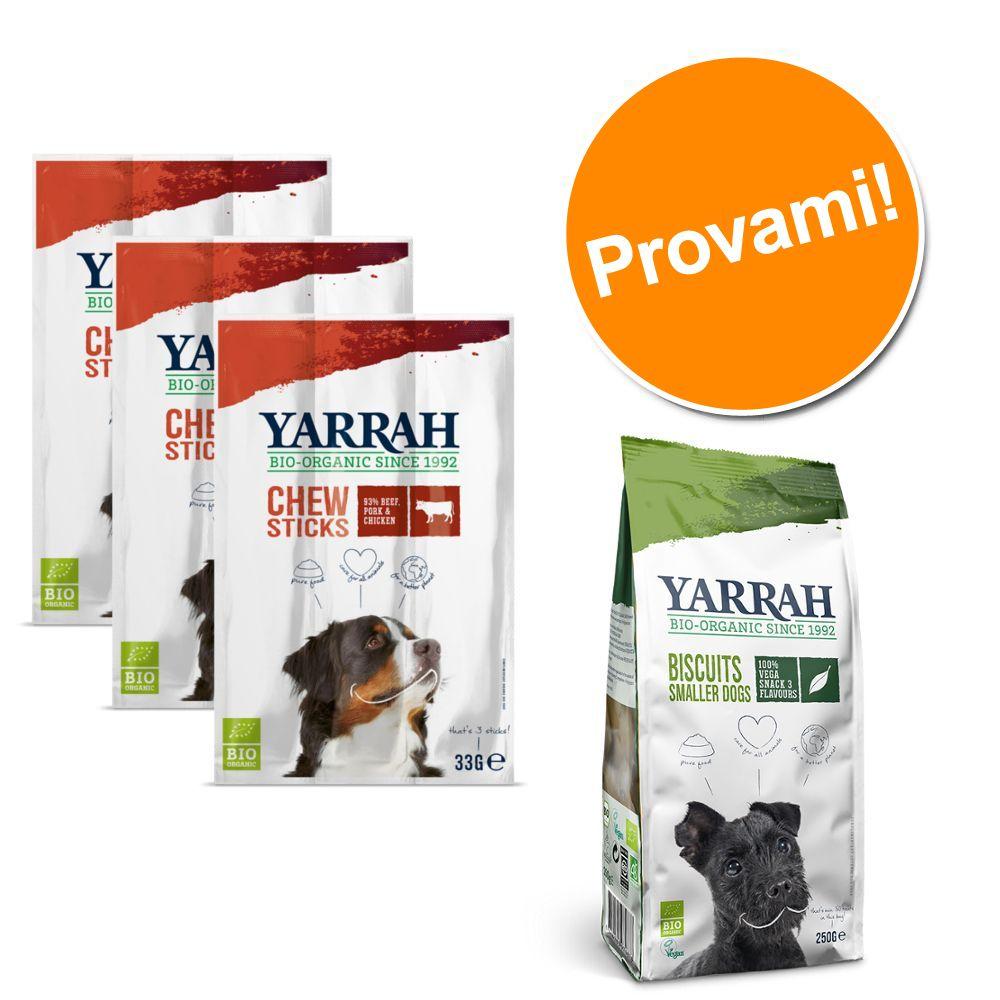 Image of Yarrah Bio mix biscotti vegetariani - Set %: 4 x 250 g