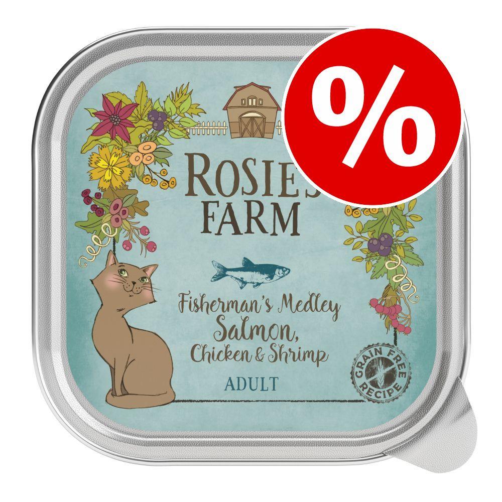 27 + 5 gratis  32 x 100 g Rosie's Farm Adult  - Kylling