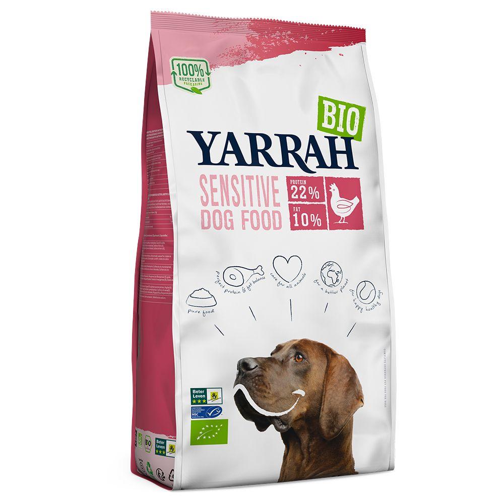 Yarrah Organic Sensitive with Organic Chicken & Organic Rice - Economy Pack: 2 x 10kg