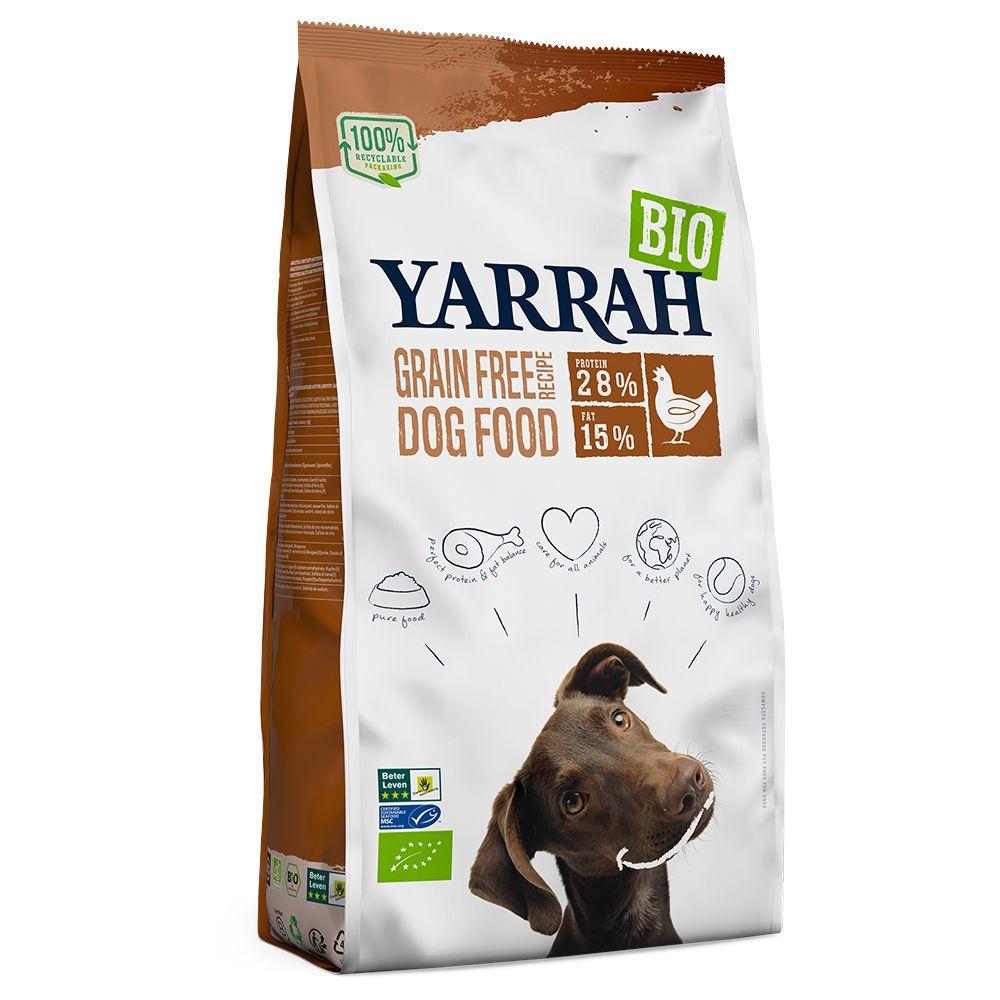 Yarrah Organic Grain-Free with Organic Chicken - 10kg