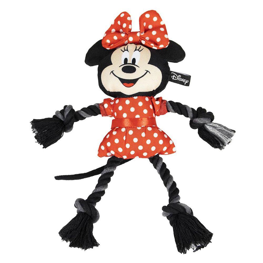 1 stk. Minnie Mouse med reb hundelegetøj