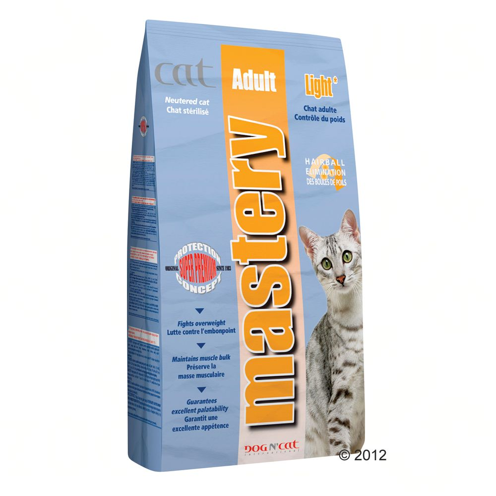 Foto Mastery Cat Adult Light - 3 kg Mastery Light