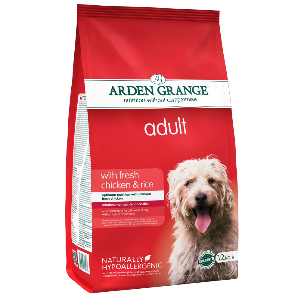 Senior Chicken & Rice Arden Grange Dry Dog Food