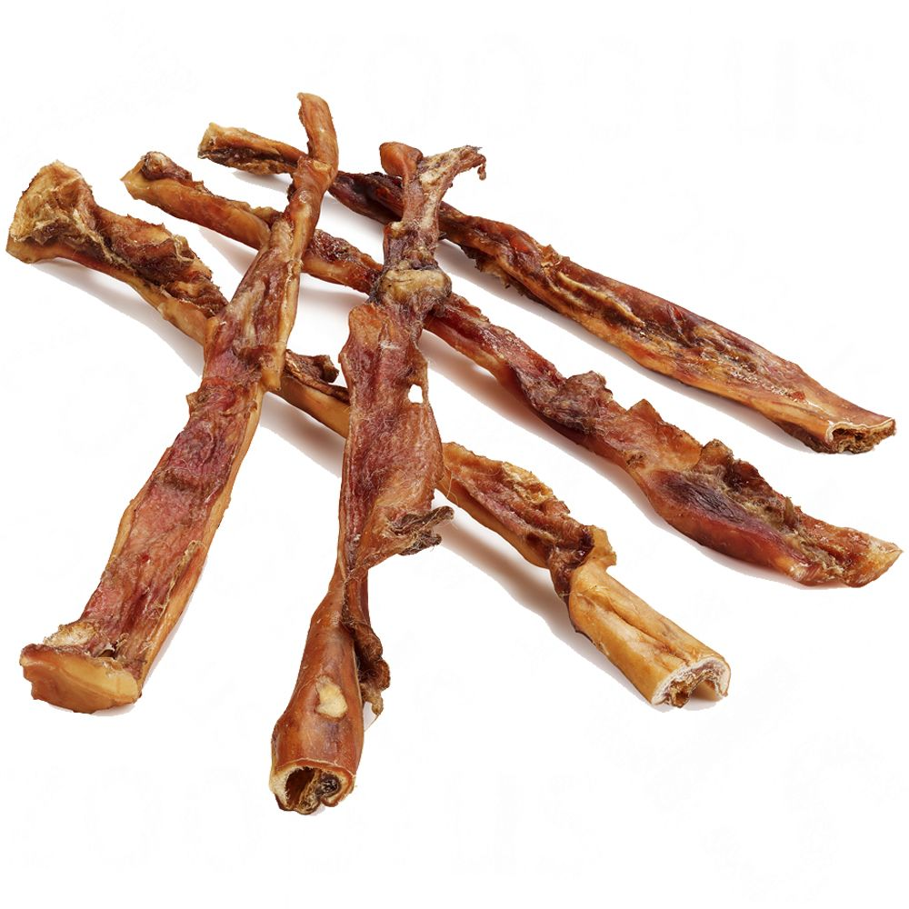 Dried Beef Scalp Extra Long Dog Chews