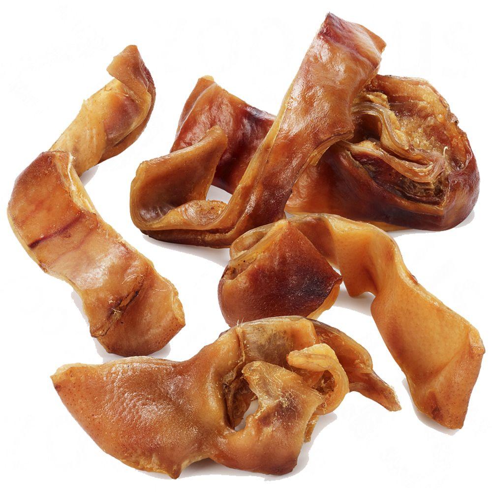Oreilles de porc en lamelles pour chien - 1000 g