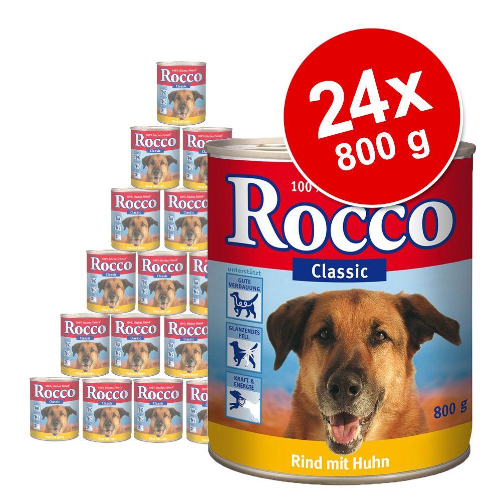 Foto Rocco Classic 24 x 800 g - Manzo Puro
