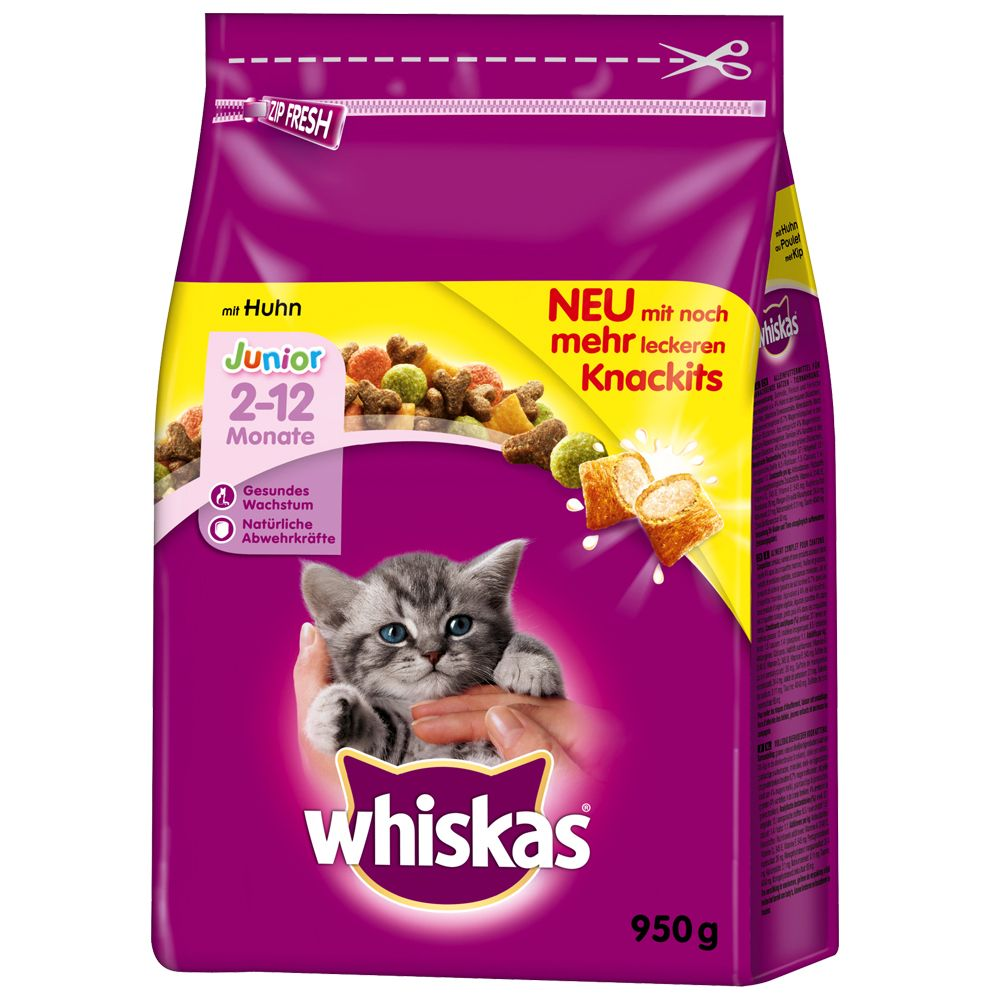 Kitten with Chicken Whiskas Dry Cat Food