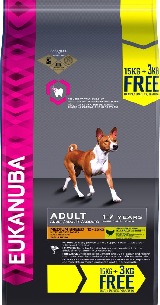 18kg Eukanuba Bonus Bags