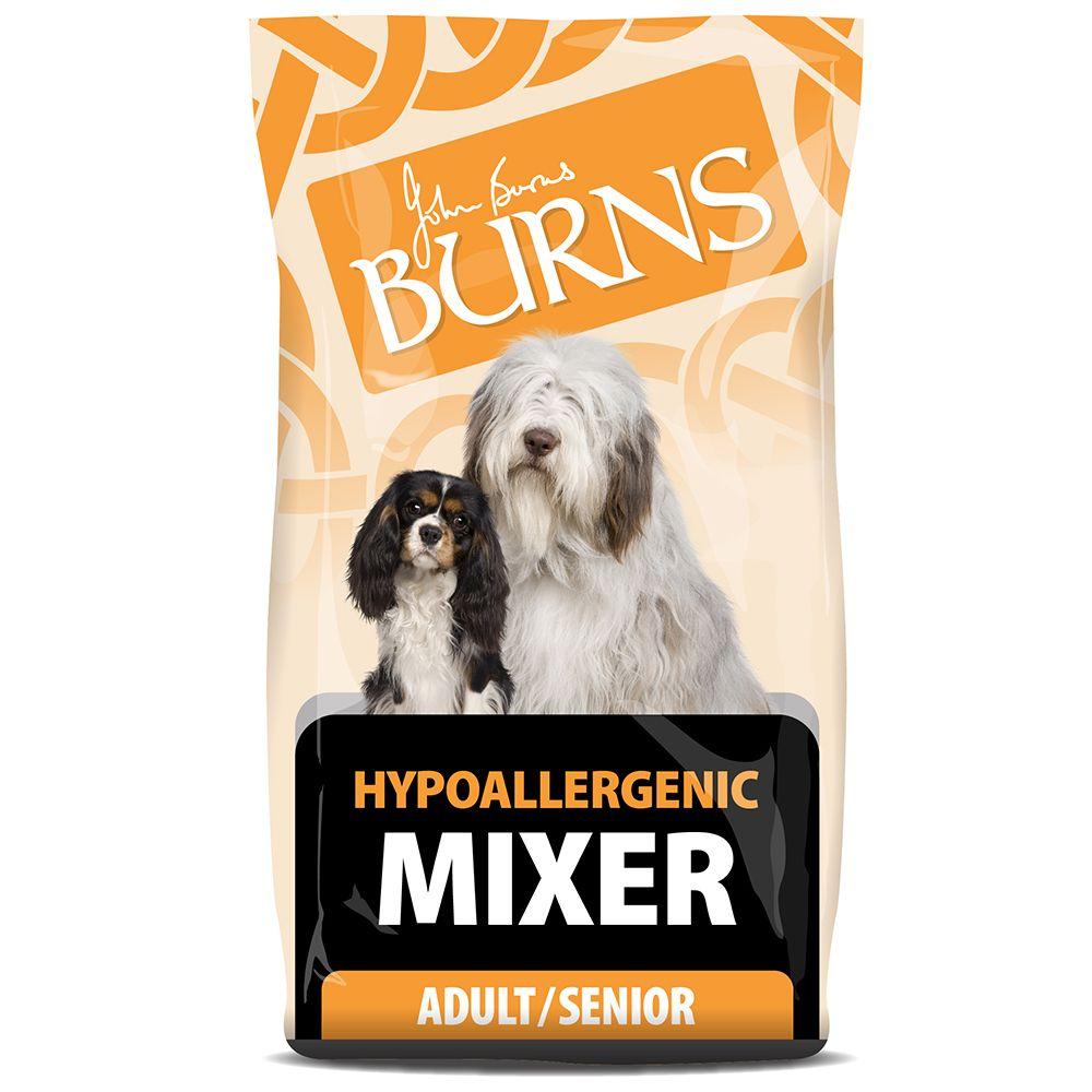 Burns Adult & Senior - Hypo-Allergenic Mixer - 2kg