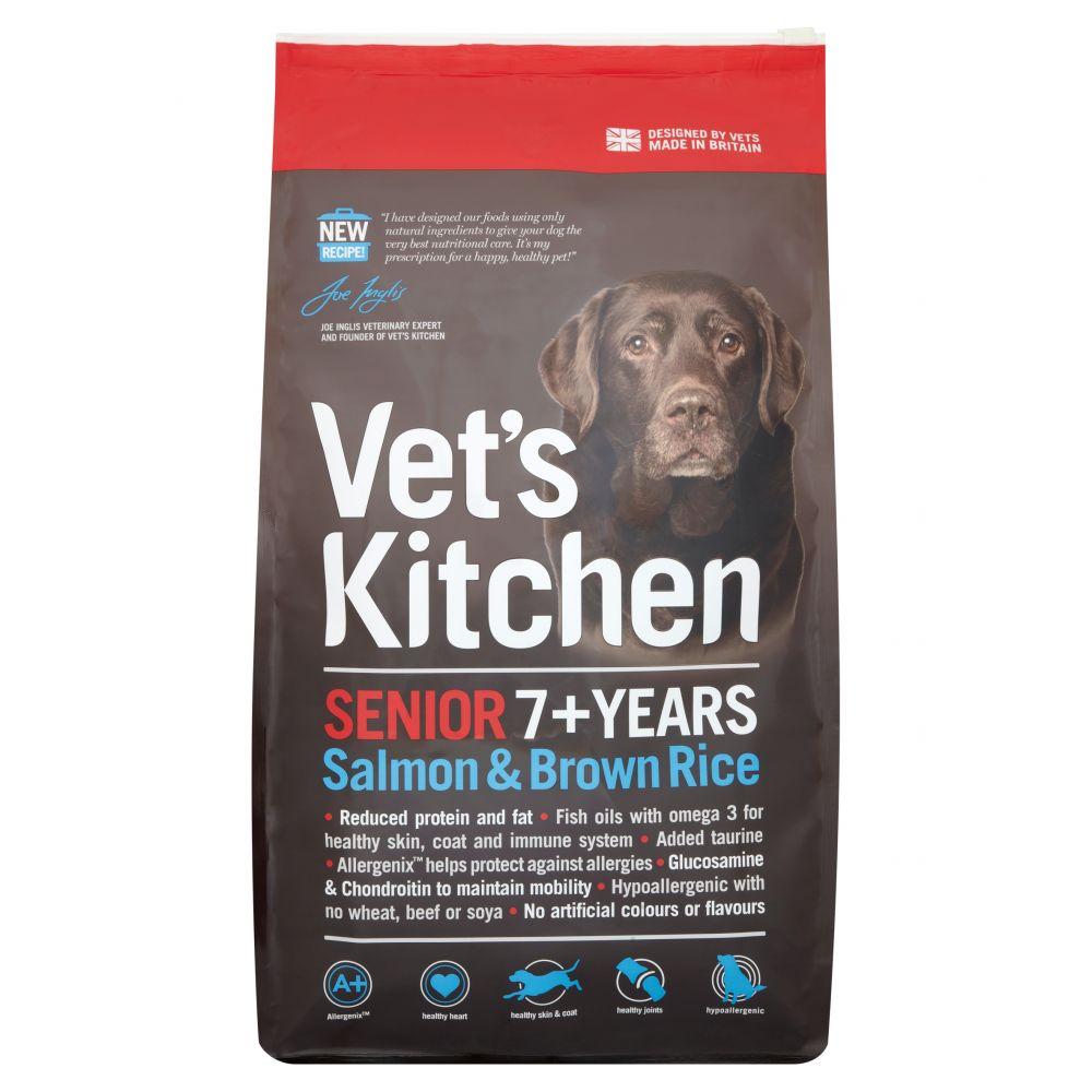 Kitchen Senior Salmon & Brown Rice Dry Dog Food